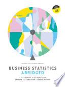 Business Statistics Abridged