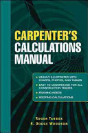 Carpenter s Calculations Manual