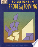 40 Lessons in Problem Solving