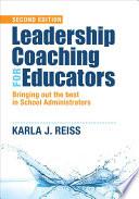 Leadership Coaching For Educators