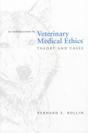 Introduction To Veterinary Medical Ethics