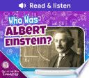 Who Was Albert Einstein  Book PDF