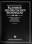 Klassiker des deutschen Stummfilms  1910 1930