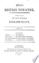 Bell's British Theatre : ...