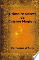 Grimoire Secret de Cuisine Magique