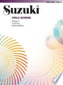 Suzuki Viola School   Volume 3  Revised