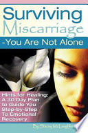 Book Surviving Miscarriage