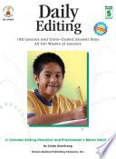 Daily Editing  Grade 5