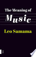 The meaning of music By Music From Lullabies To Radio