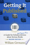Getting It Published 2nd Edition book