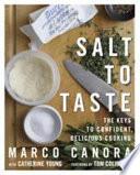 Book Salt to Taste