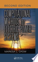 Computational Methods for Electric Power Systems  Second Edition
