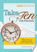 Take Ten for Writers