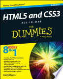 HTML5 And CSS3 All-in-One For Dummies : building layouts with css, client-side programming...