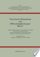 Numerische Behandlung von Differentialgleichungen Band 2