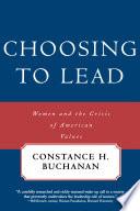 Choosing to Lead