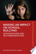 Making An Impact On School Bullying