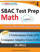 SBAC Test Prep  4th Grade Math Common Core Practice Book and Full length Online Assessments