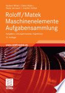 Roloff Matek Maschinenelemente Aufgabensammlung