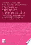 Perspektiven einer neuen Engagementkultur