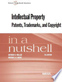 Miller and Davis  Intellectual Property  Patents Trademarks  and Copyright in a Nutshell  5th