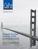 Problem Solving Survival Guide to Accompany Intermediate Accounting  Volume 1