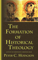 The formation of historical theology