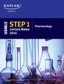 Usmle Step 1 Pharmacology Lecture Notes 2016