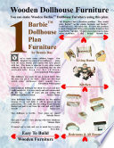 Barbie Dollhouse Plan Furniture : furniture and barbie would fall over....