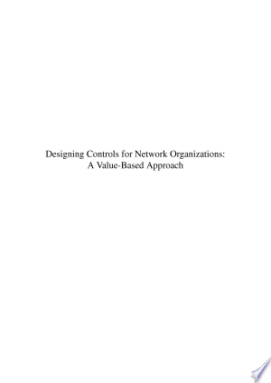 Designing controls for network organizations - ISBN:9789051708615