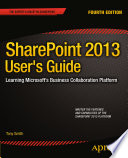 SharePoint 2013 User s Guide