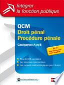 Qcm Droit P Nal Proc Dure P Nale Cat Gories A Et B