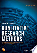 Qualitative Research Methods Research Qualitative Research Methods Collecting Evidence Crafting Analysis