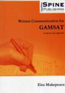 Written Communication for GAMSAT