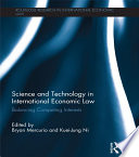 Science and Technology in International Economic Law