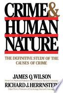 Crime Human Nature
