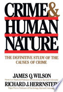 illustration Crime Human Nature, The Definitive Study of the Causes of Crime