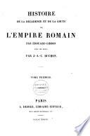 Histoire de la d  cadence et la ch  te de l Empire romain