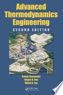 Advanced Thermodynamics Engineering  Second Edition
