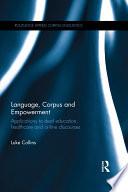 Language  Corpus and Empowerment