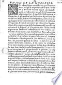 Lettre circulaire de l'assemblée de noblesse (Union de la noblesse ; consentement et approbation)