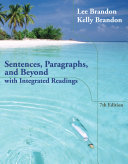 download ebook sentences, paragraphs, and beyond: with integrated readings pdf epub