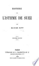 Histoire de l'Isthme de Suez ... Deuxième édition