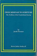 From Mishnah to Scripture