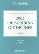 Maudesley Prescribing Guidelines