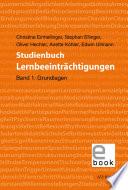 Studienbuch Lernbeeinträchtigungen