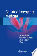 Geriatric Emergency Medicine : older people, identifying the particular...