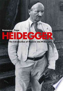 Heidegger, the Introduction of Nazism Into Philosophy in Light of the Unpublished Seminars of 1933-1935
