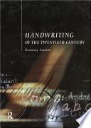 Handwriting Of The Twentieth Century