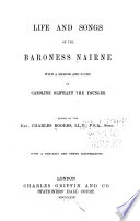 Life and Songs of the Baroness Nairne Book PDF
